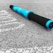 Jesse Caron - Product - Massage Stick - Blue Black - Close