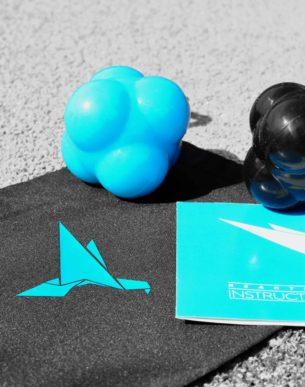 Jesse Caron - Product - Reactieballen - Blauw - Zwart